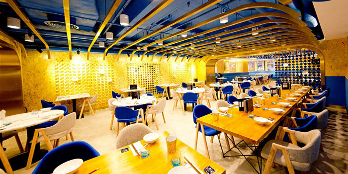 Interior, Ming Bistro, Central, Hong Kong
