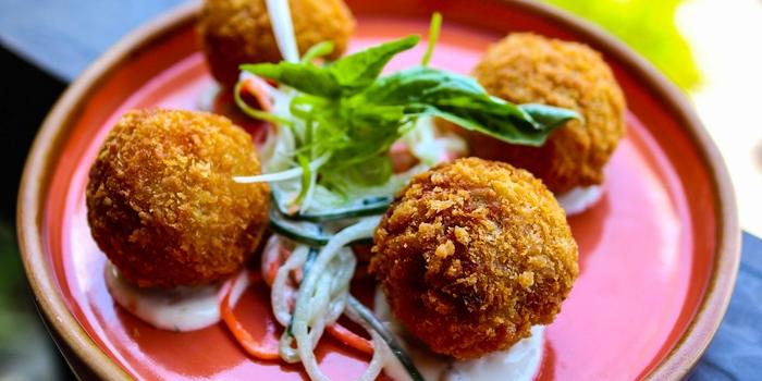 Dish 1 at Nudi Nusa Dua