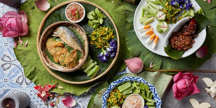 Assorted thai dips from Attarote on Sukhumvit39, Wattana, Bangkok