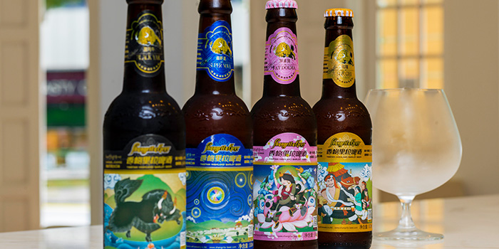 Shangri-La Beer from 28Wilkie Italian Restaurant & Caviar Bar in Dhoby Ghaut, Singapore