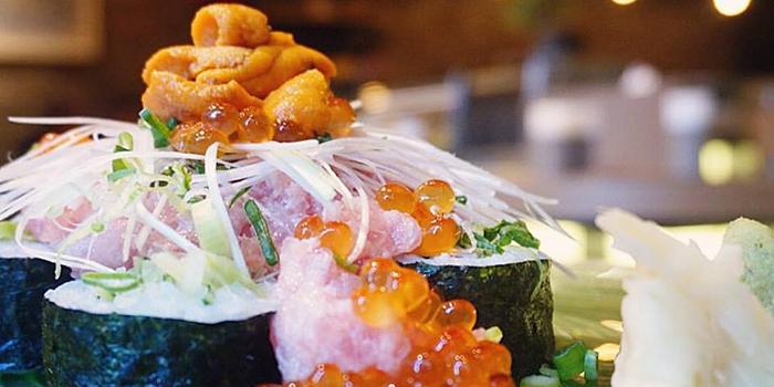 Seafood Sushi Treasure Chest, FireBird, Causeway Bay, Hong Kong