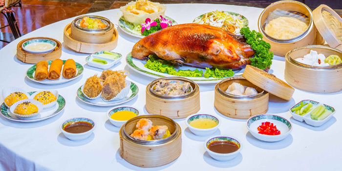 Assorted Dim Sum from Dynasty Restaurant at Centara Grand at Central Plaza Ladprao Bangkok, Bangkok