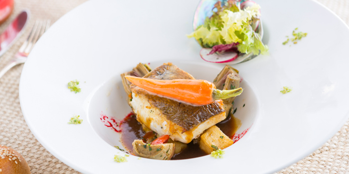 Atlantic Cod Fish Fillet from Don Giovanni Restaurant at Centara Grand at Central Plaza Ladprao Bangkok, Bangkok