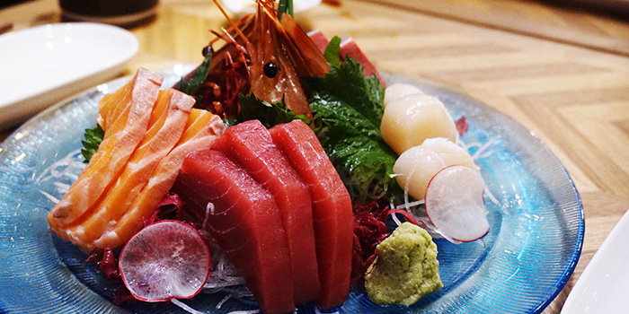 Assorted Sashimi for one, FireBird, Causeway Bay, Hong Kong