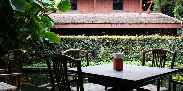 Bar from Jim Thompson Restaurant and Wine Bar on Rama 1 Road, Bangkok