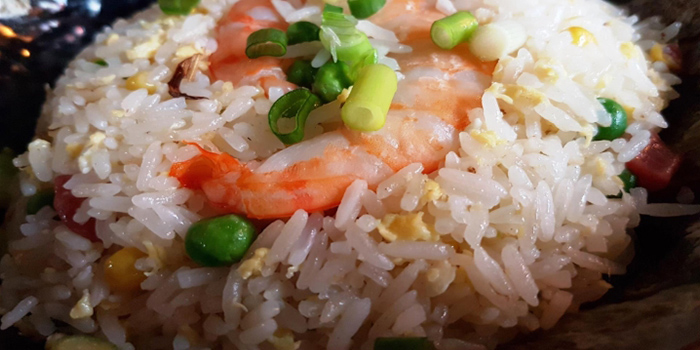 Crabmeat Prawn Fried Rice from Fu Lin Bar & Kitchen at Telok Ayer in Raffles Place, Singapore