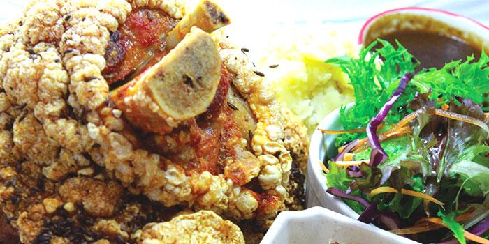 Crispy Pork Knuckle from Der Biergarten in Dhoby Ghaut, Singapore