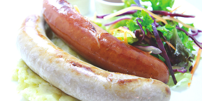 German Sausage Platter from Der Biergarten in Dhoby Ghaut, Singapore