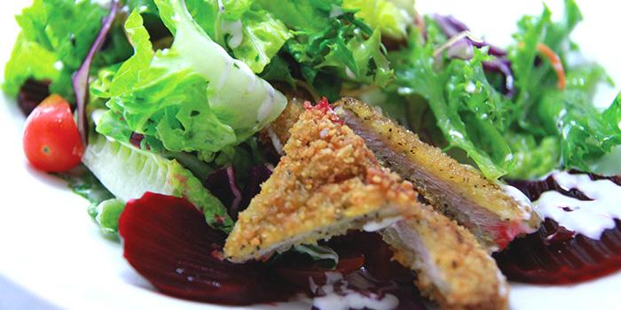 Pork Schitzel from Der Biergarten in Dhoby Ghaut, Singapore