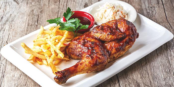 Barbecued Half Chicken from Dan Ryan