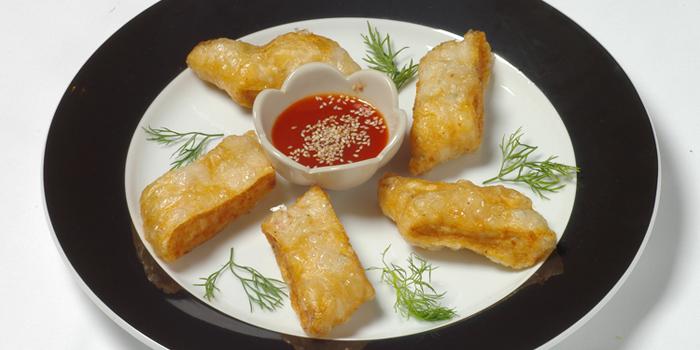 Deep Fried Crab Meat Roll from Le Danang Restaurant at Centara Grand at Central Plaza Ladprao Bangkok, Bangkok