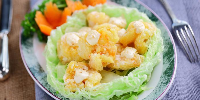 Deep Fried Shrimp from Dynasty Restaurant at Centara Grand at Central Plaza Ladprao Bangkok, Bangkok