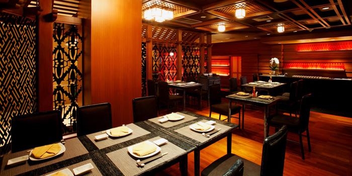 Dining Table from Hagi Restaurant at Centara Grand at Central Plaza Ladprao Bangkok, Bangkok