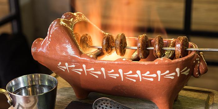 Flaming Chorizo, OM Tapas, Tsim Sha Tsui, Hong Kong