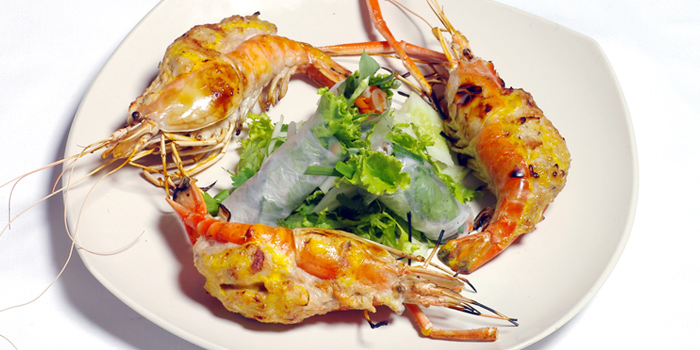 Grilled Prawn from Le Danang Restaurant at Centara Grand at Central Plaza Ladprao Bangkok, Bangkok