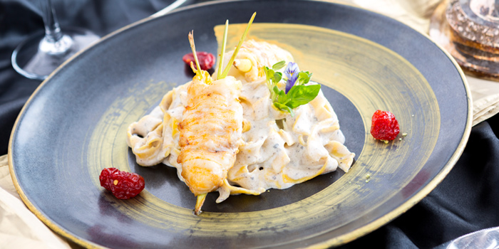 Homemade Fresh Fettuccine from Don Giovanni Restaurant at Centara Grand at Central Plaza Ladprao Bangkok, Bangkok