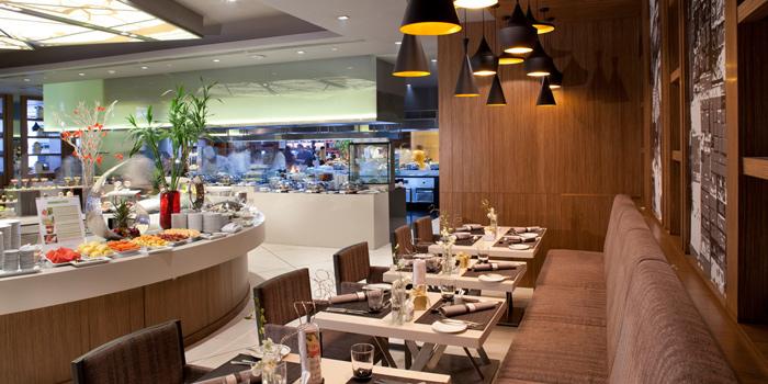 Interior of Chatuchak Cafe at Centara Grand at Central Plaza Ladprao Bangkok, Bangkok
