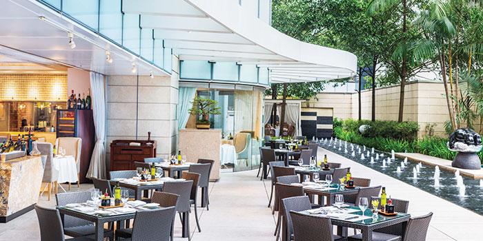 Al Fresco Area at LaBrezza at The St. Regis Singapore in Tanglin, Singapore