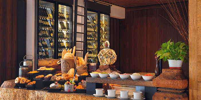 Breakfast Spread from Latest Recipe at Le Méridien in Sentosa, Singapore
