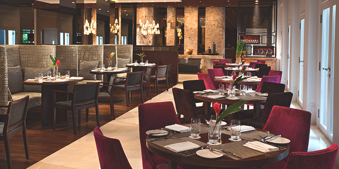 Dining Area of Latest Recipe at Le Méridien in Sentosa, Singapore