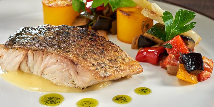 Roasted Cod from La Brasserie in Fullerton Bay Hotel, Singapore