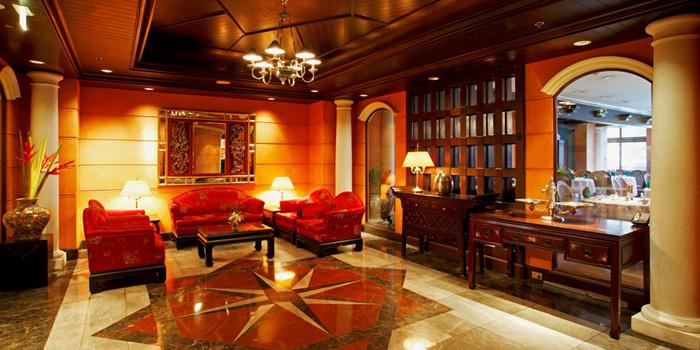 Lobby from Dynasty Restaurant at Centara Grand at Central Plaza Ladprao Bangkok, Bangkok