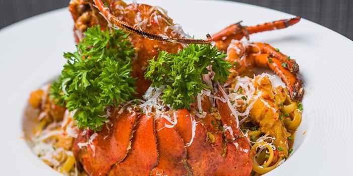 Lobster Linguine, Shoku Japanese Binchotan Grill, Repulse Bay, Hong Kong