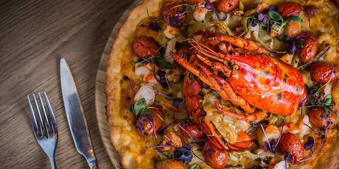 Lobster Pizza, The Point, Causeway Bay, Hong Kong