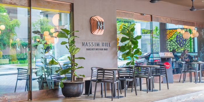 Exterior of Nassim Hill Bakery Bistro Bar at Tanglin Post Office in Tanglin, Singapore