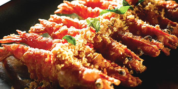 Cereal Prawn from No Signboard Seafood (Clarke Quay Central) in Clarke Quay, Singapore