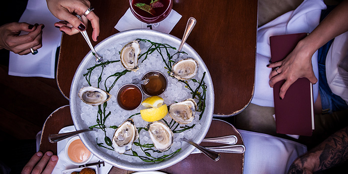 Oysters on the Half Shell, Employees Only, Central, Hong Kong