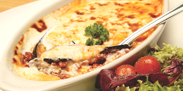 Greek Moussaka from Place to READ in Dhoby Ghaut, Singapore
