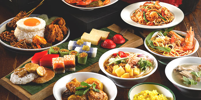 Food Spread from Princess Terrace Cafe at Copthorne Kings Hotel, Singapore in Outram, Singapore