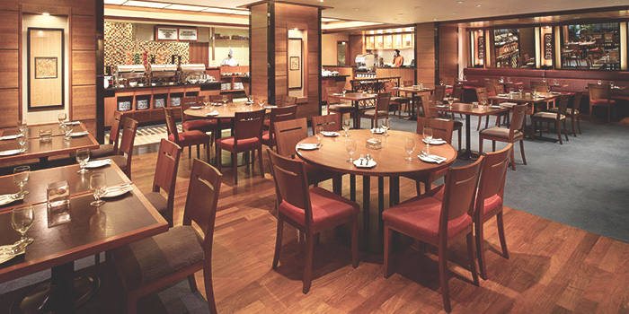 Interior of Princess Terrace Cafe at Copthorne Kings Hotel, Singapore in Outram, Singapore