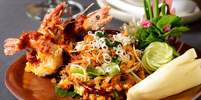 Pad Thai from Jim Thompson Restaurant and Wine Bar on Rama 1 Road, Bangkok