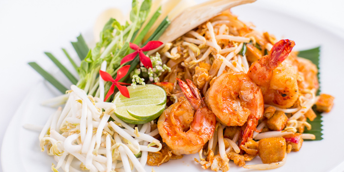 Pad Thai from Jim Thompson Restaurant and Lounge on Surawong Road, Bangkok