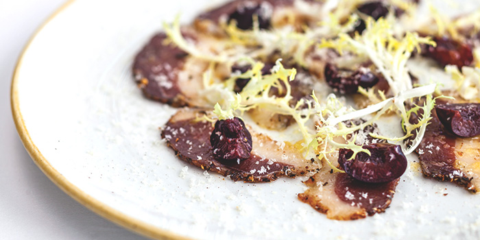 House Cured Duck Bresaola from Salt Grill & Sky Bar at Ion Orchard, Singapore