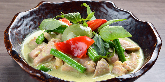 Green Curry with Chicken from Siam Thai Tuckshop at SAFRA Punggol in Punggol, Singapore