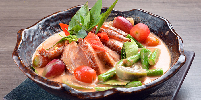 Thai Red Curry with Duck from Siam Thai Tuckshop at SAFRA Punggol in Punggol, Singapore