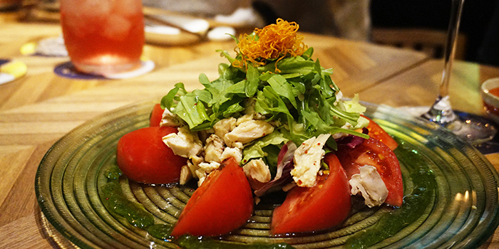 Japanese Tomato Salad, FireBird, Causeway Bay, Hong Kong