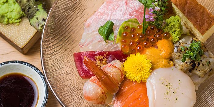 Sashimi Rice Bowl, Shoku Japanese Binchotan Grill, Repulse Bay, Hong Kong