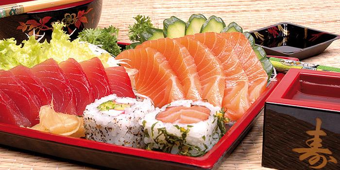 Sashimi Set from Hagi Restaurant at Centara Grand at Central Plaza Ladprao Bangkok, Bangkok