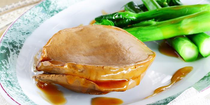 Sauteed Whole Mexican Abalone from Dynasty Restaurant at Centara Grand at Central Plaza Ladprao Bangkok, Bangkok