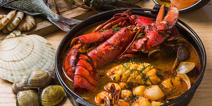 Seafood Bouillabaise, Shoku Japanese Binchotan Grill, Repulse Bay, Hong Kong