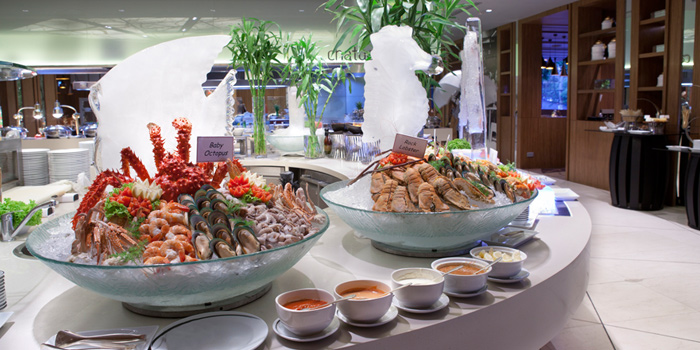 Seafood Station from Chatuchak Cafe at Centara Grand at Central Plaza Ladprao Bangkok, Bangkok