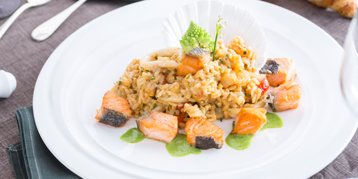 Seafood Risotto from Don Giovanni Restaurant at Centara Grand at Central Plaza Ladprao Bangkok, Bangkok