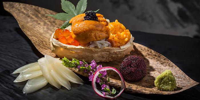 Uni Rice with Snow Crab and Salmon Roe, Kishoku, Causeway Bay, Hong Kong