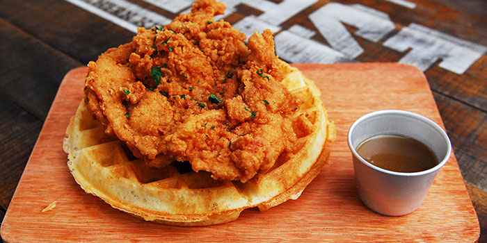 Chicken & Waffles from The Beast in Bugis, Singapore