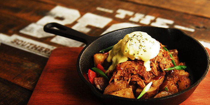 Pulled Pork Hash from The Beast in Bugis, Singapore