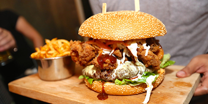 The Beast Burger from The Beast in Bugis, Singapore